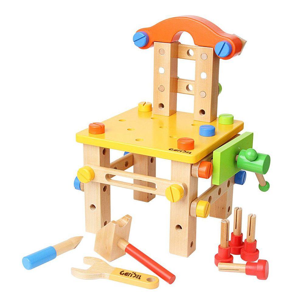 Scaun cu unelte - set de construit