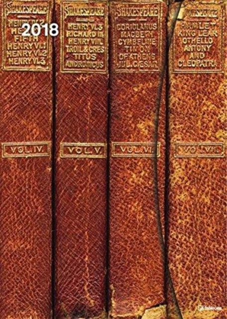 2018 ANTIQUE BOOKS 16 X 22 MAGNETO DIARY