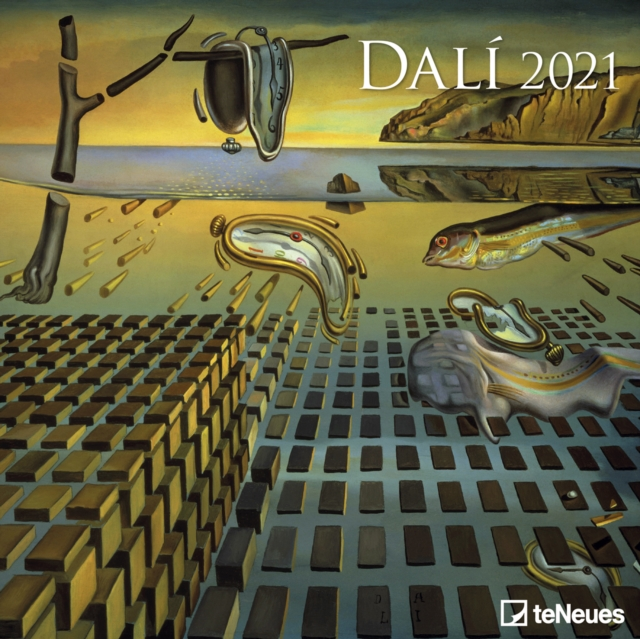 DALI 30 X 30 GRID CALENDAR 2021