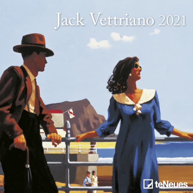 JACK VETTRIANO MINI GRID CALENDAR 2021