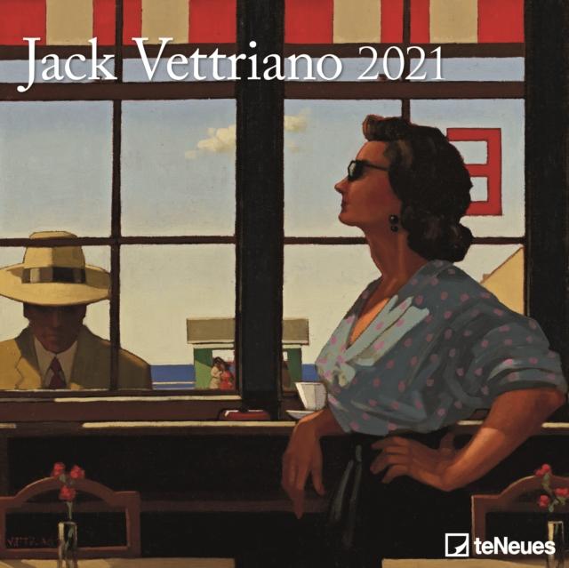 Jack Vettriano Square Wall Calendar 2021