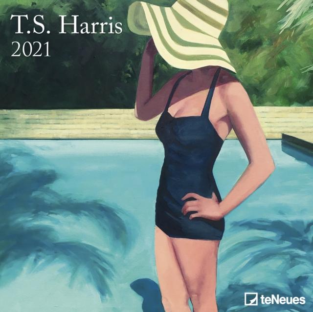 TS HARRIS 30 X 30 GRID CALENDAR 2021