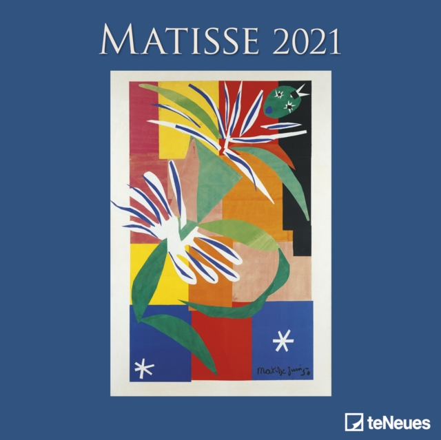 MATISSE 30 X 30 GRID CALENDAR 2021