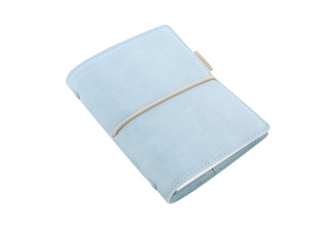 FILOFAX DOMINO SOFT POCKET PALE BLUE