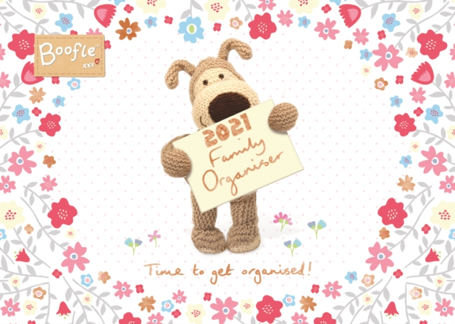 Boofle Week-to-View A4 Planner Calendar 2021