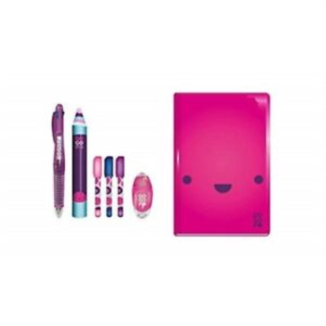 GOGOPO PINK NOTEBOOK BUNDLE