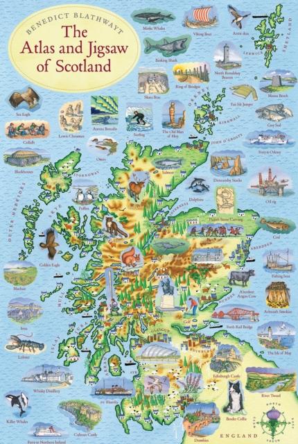ATLAS & JIGSAW OF SCOTLAND