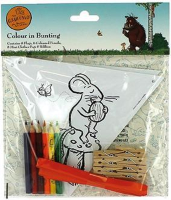 GRUFFALO COLOUR IN BUNTING