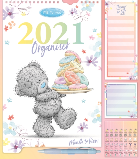 Me To You Classic Household Deluxe Wall Planner Calendar 2021