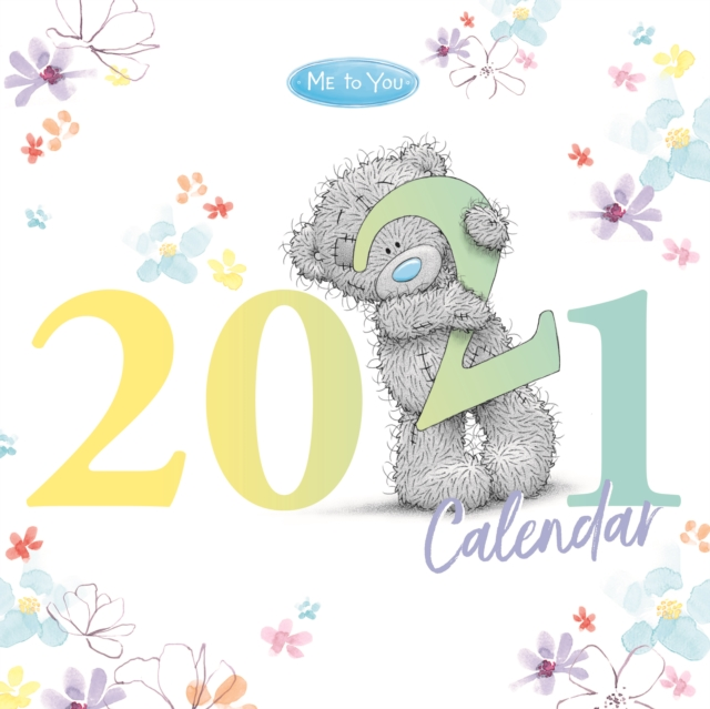 Me To You Classic Square Wiro Wall Calendar 2021