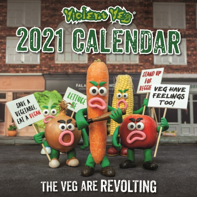 Violent Veg Square Wall Calendar 2021