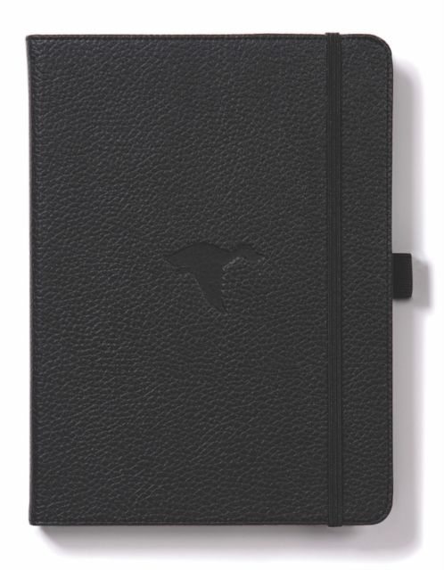 Dingbats A5+ Wildlife Black Duck Notebook - Graph