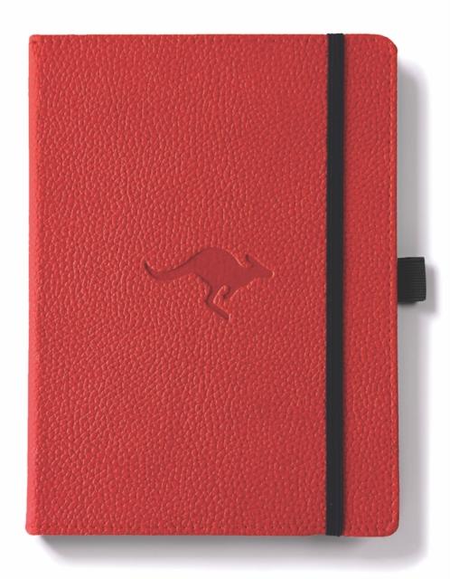 Dingbats A5+ Wildlife Red Kangaroo Notebook - Plain