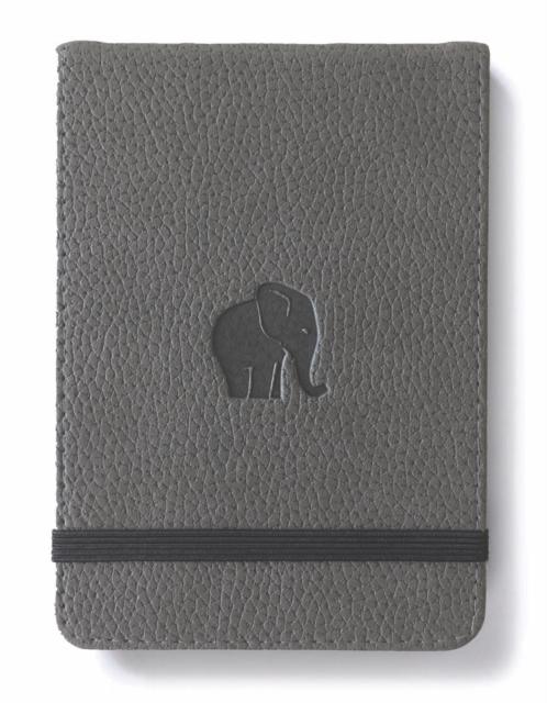 Dingbats A6+ Wildlife Grey Elephant Reporter Notebook - Lined