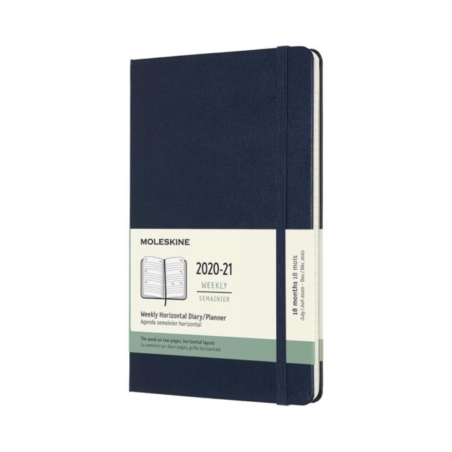 Moleskine 2021 18-Month Weekly Large Hardcover Horizontal Diary