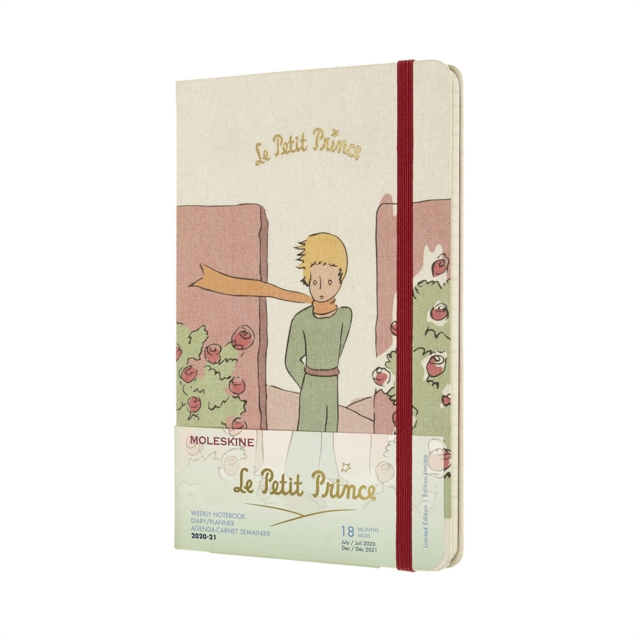 Moleskine Limited Edition Petit Prince 2021 18-Month Large Weekly Diary