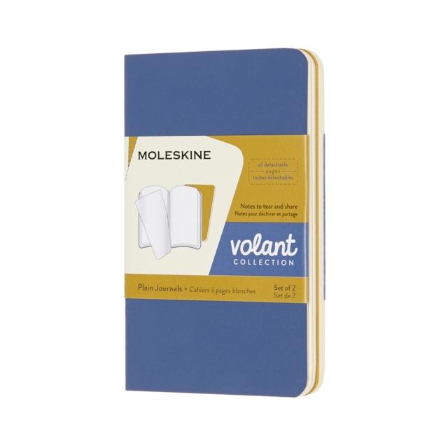 Moleskine Volant Journals XS Plain Forget.Blue Amber.Yellow