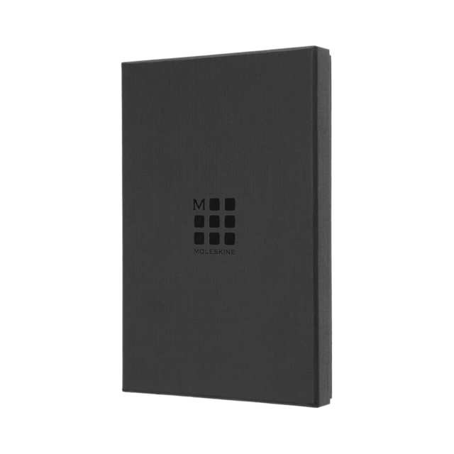 Moleskine Large Leather Ruled Notebook In Box