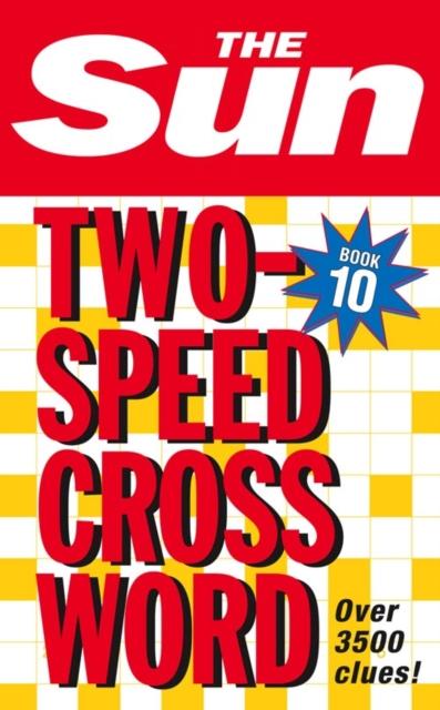 Sun Two-Speed Crossword Book 10