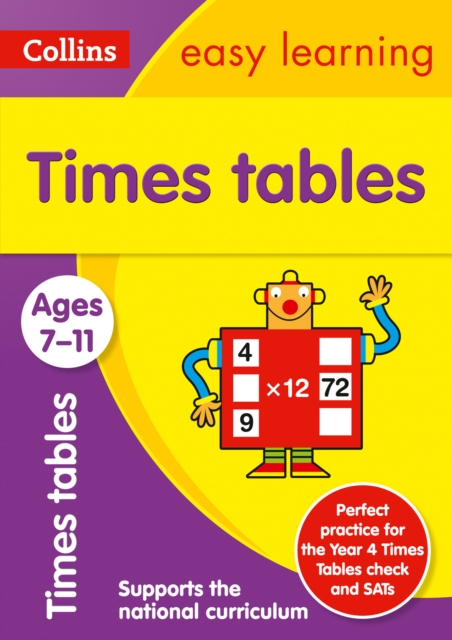 Times Tables Ages 7-11