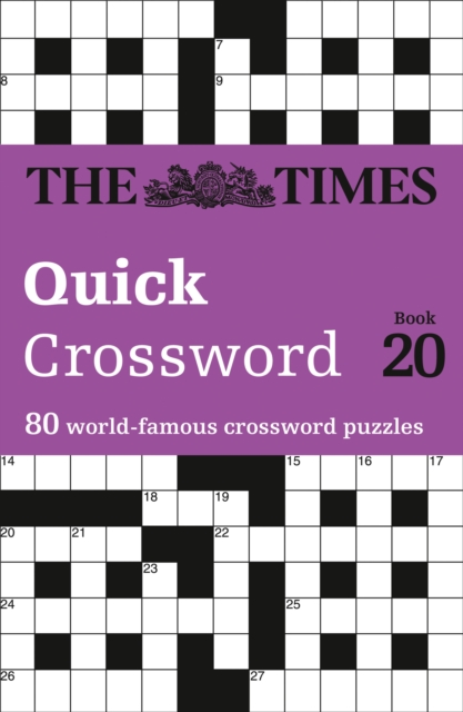 Times Quick Crossword Book 20