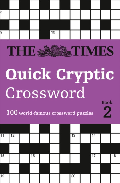 Times Quick Cryptic Crossword Book 2