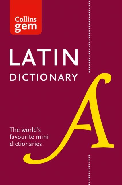 Latin Gem Dictionary