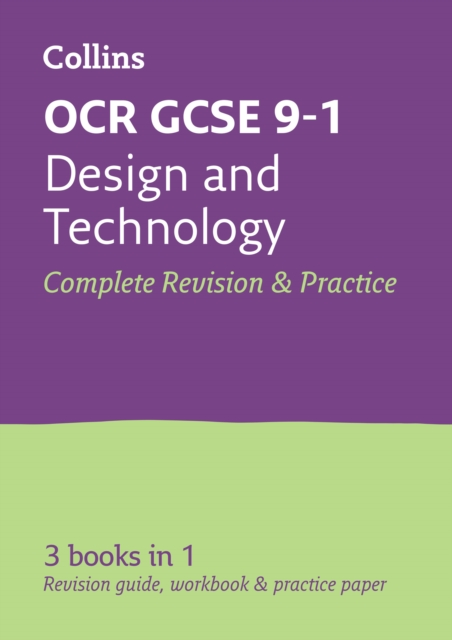 OCR GCSE 9-1 Design & Technology All-in-One Complete Revision and Practice
