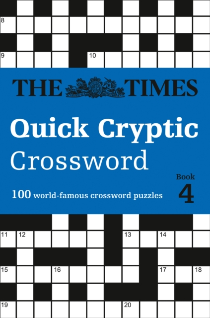 Times Quick Cryptic Crossword Book 4
