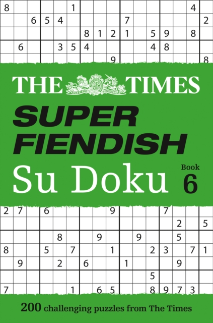 Times Super Fiendish Su Doku Book 6