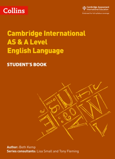 Cambridge International AS & A Level English Language Student's Book
