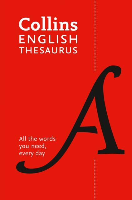 Paperback English Thesaurus Essential