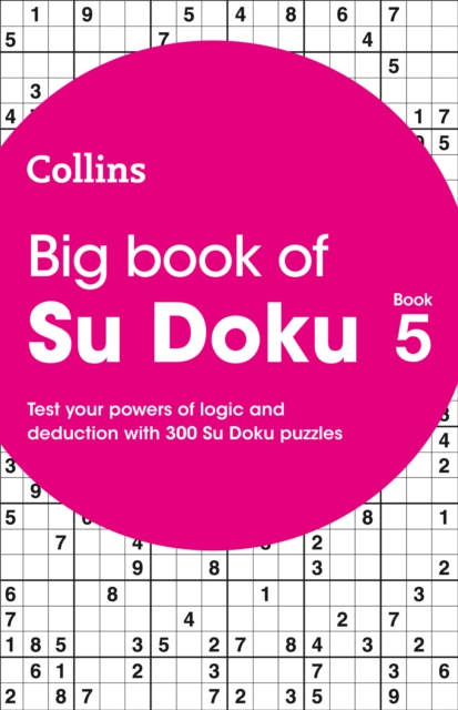 Big Book of Su Doku Book 5