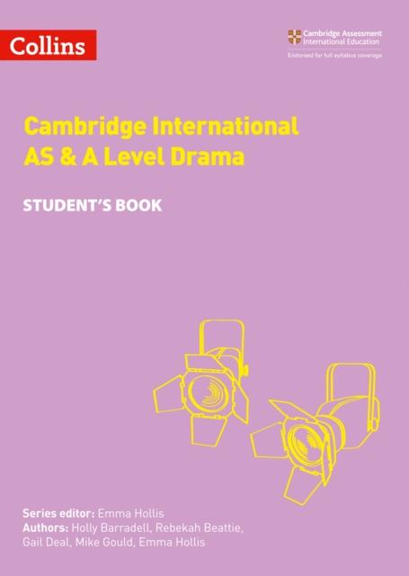 Cambridge International AS & A Level Drama Student's Book