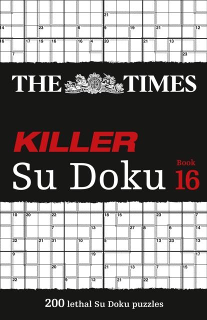 Times Killer Su Doku Book 16