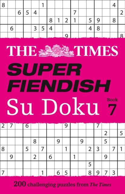 Times Super Fiendish Su Doku Book 7
