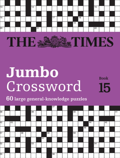 Times 2 Jumbo Crossword Book 15