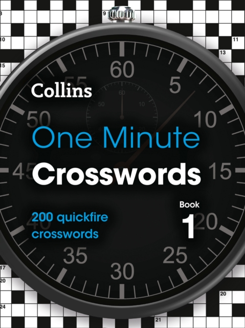 One Minute Crosswords Book 1