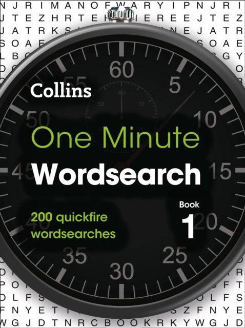 One Minute Wordsearch Book 1