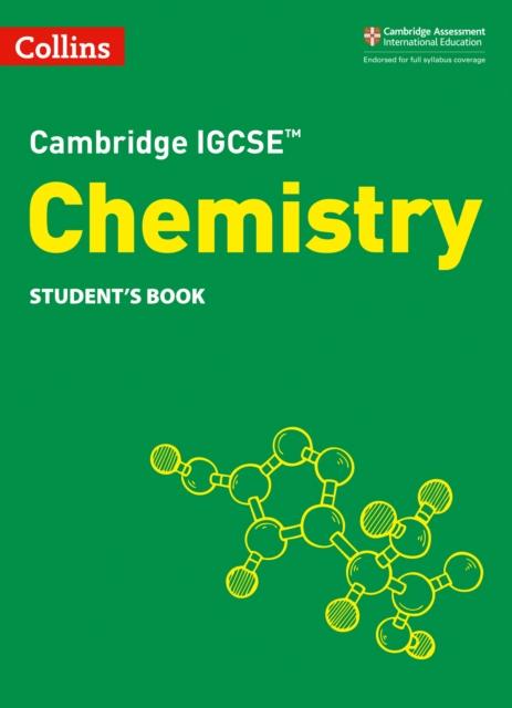 Cambridge IGCSE (TM) Chemistry Student's Book
