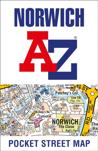 Norwich Pocket Street Map