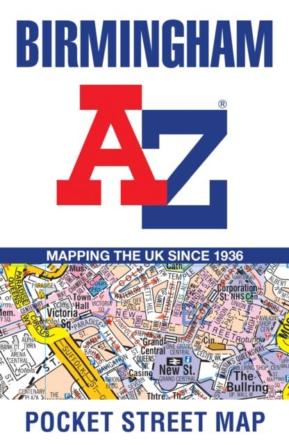 Birmingham Pocket Street Map