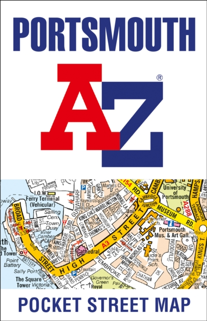 Portsmouth Pocket Street Map