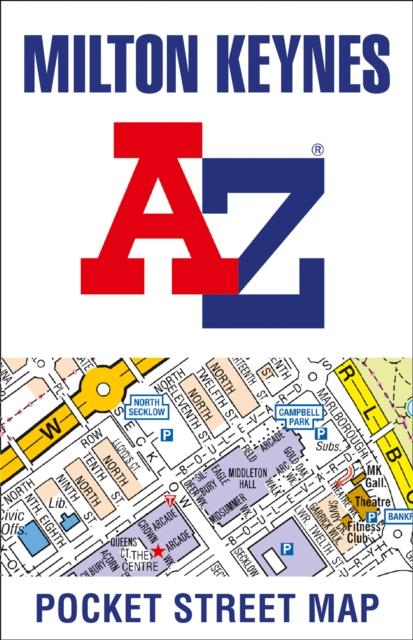Milton Keynes Pocket Street Map