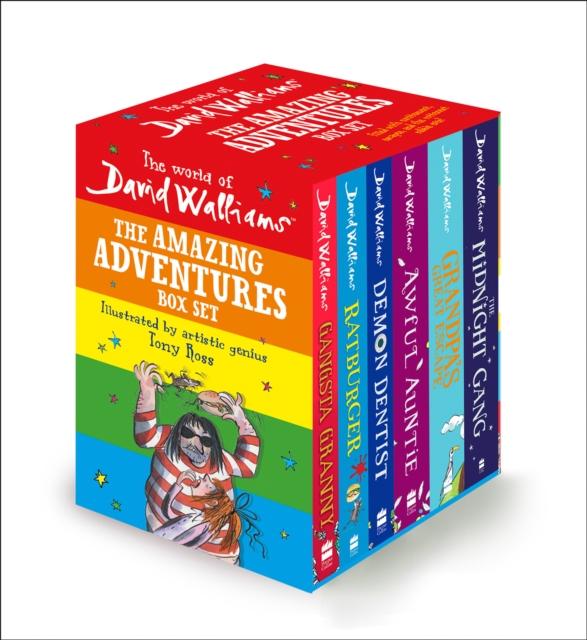 World of David Walliams: The Amazing Adventures Box Set