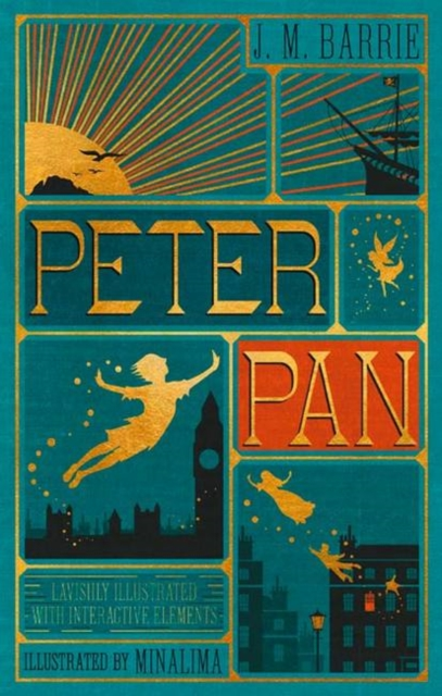 Peter Pan (Illustrated with Interactive Elements): MinaLima Edition