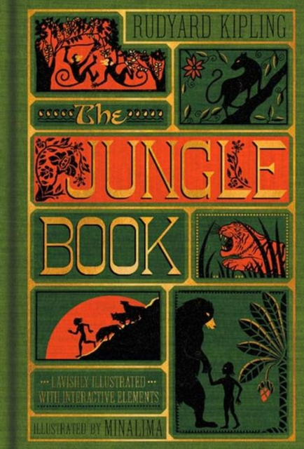 Jungle Book (Illustrated with Interactive Elements): MinaLima Edition