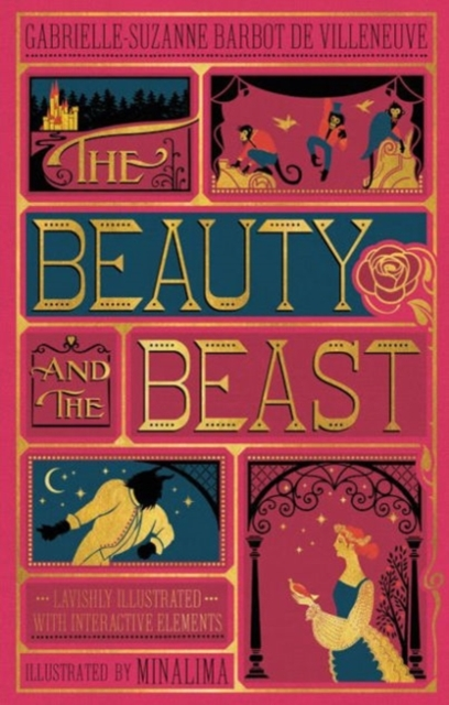Beauty and the Beast (Illustrated with Interactive Elements): MinaLima Edition