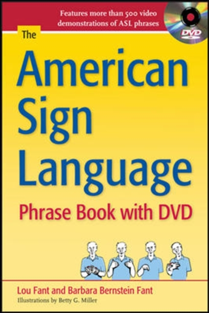 American Sign Language Phrase Book with DVD