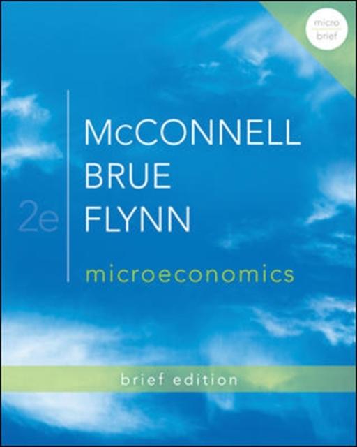 Microeconomics Brief Edition